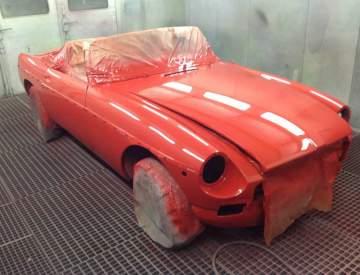 Rénovation de véhicule vintage
