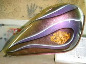 Réservoir style Harley Davidson