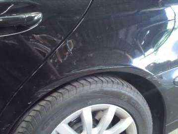 Mercedes break noir expertise réparation peinture