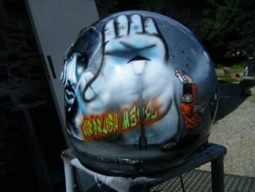 Casque moto-cross Hip Hop tag de rue
