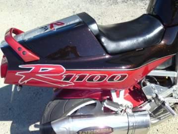 1100 GSXR peinture moto personnalisée