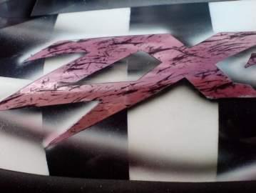 ZX7R Réparation et décoration