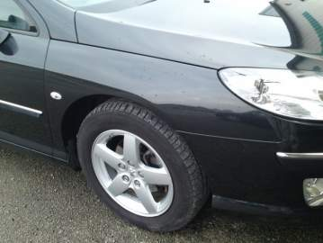 Peugeot 407 SW réparation carrosserie + peinture