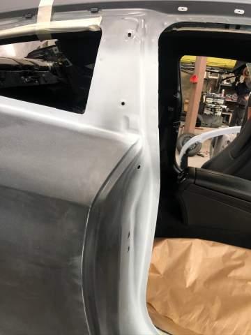 COUPÉ MERCEDES C250 AMG MAT PEINTURE COMPLETE
