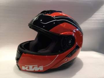Casque moto KTM peinture personnalisée
