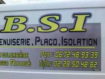 Plaque magnetique BSI