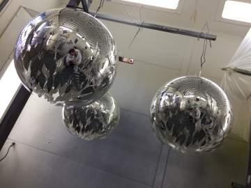 Boules de Noël Yves Rocher Paris