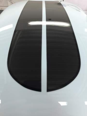 Peinture réservoir BMW CAFE RACER Déco strip Nantes 44