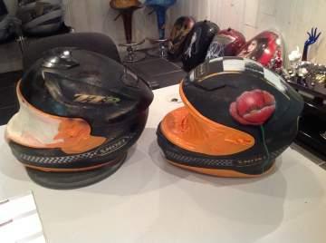 Casque Shoei pour un couple cadeau de noël