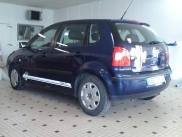 Déco stickers voiture VW polo