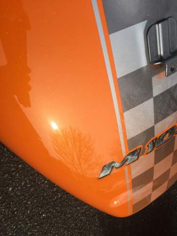 Suzuki Intruder Lamborghini Peinture moto personnalisation 44