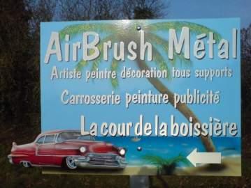 AirBrush Métal à Châteaubriant