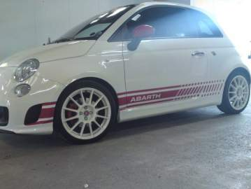 Stickers toit FIAT 500 ABARTH
