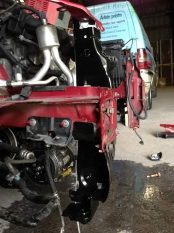 Citroen C4 réparation choc avant