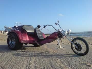 Décoration et modification des formes d'un Trike