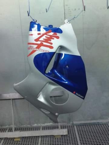 Peinture moto 1300 Hayabusa