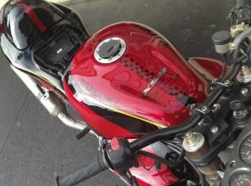 Peinture moto personnalisation 1300 Hayabusa street