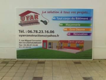 Panneaux chantiers Uyar