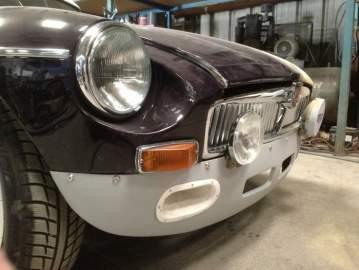 MG B restauration complète changement couleur 44 Nantes / Châteaubriant