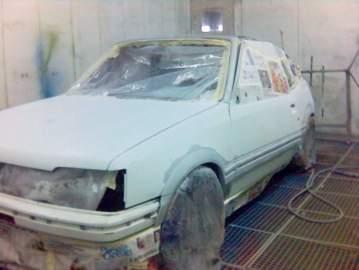 205 cabriolet grise