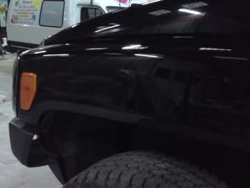 Hummer H3 carrosserie peinture